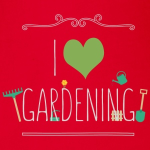 I love gardening Long Sleeve Shirts - Organic Short-sleeved Baby Bodysuit