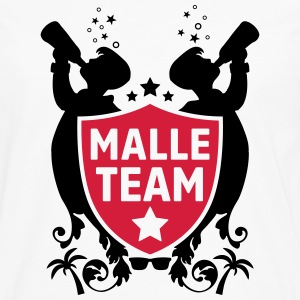 malle party team T-Shirts - Männer Premium Langarmshirt