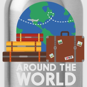 Around the world Shirts - Water Bottle