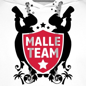 malle party team Buttons & Anstecker - Männer Premium Hoodie