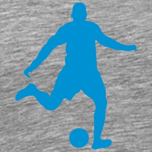 Football player shoot 2103 Sports wear - Men's Premium T-Shirt