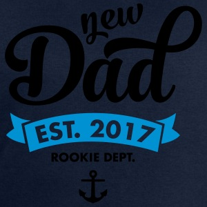 New Dad Est. 2017 - Rookie Dept. (Anchor) T-Shirts - Männer Sweatshirt von Stanley & Stella