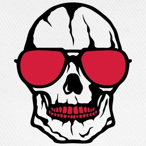 skull sunglasses 2103 Shirts - Baseball Cap