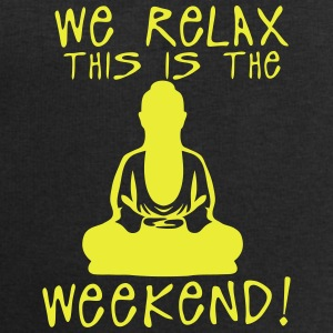 we relax this is the weekend zen buddha Ropa deportiva - Sudadera hombre de Stanley & Stella