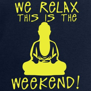 we relax this is the weekend zen buddha Tops - Sudadera hombre de Stanley & Stella