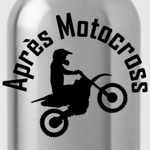 apres motocross T-Shirts - Trinkflasche