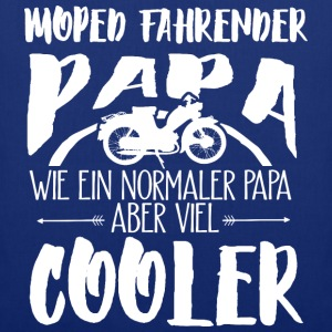 Cooler Moped-Papa T-Shirts - Stoffbeutel