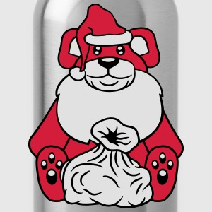 santa claus christmas nicholas winter gifts Santa  T-Shirts - Water Bottle