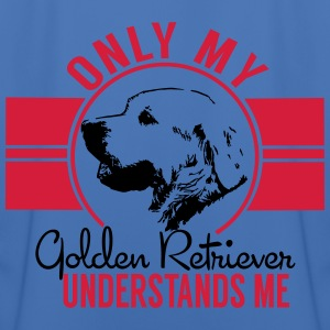 Only mean Golden Retriever Jackets & Vests - Men's Football Jersey