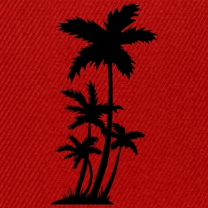palm trees T-Shirts - Snapback Cap