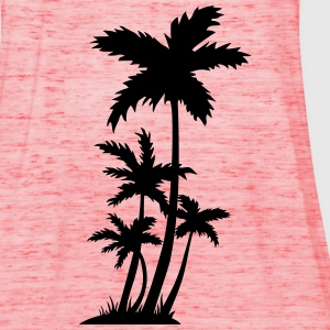 palm trees Shirts - Vrouwen tank top van Bella