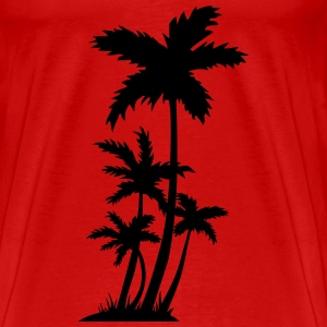 palm trees Toppe - Herre premium T-shirt