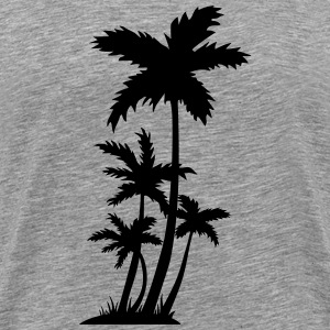 palm trees Long sleeve shirts - Men's Premium T-Shirt