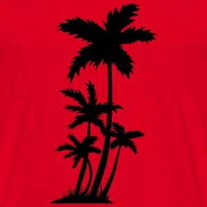 palm trees Sweatshirts - Herre-T-shirt