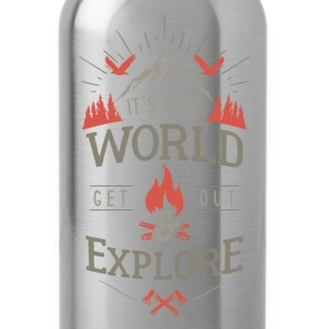 get out & explore Pullover & Hoodies - Trinkflasche