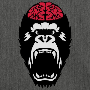 gorilla brain open mouth T-Shirts - Shoulder Bag made from recycled material