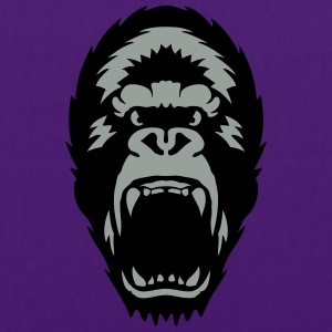 gorilla open mouth 1603 T-Shirts - Tote Bag