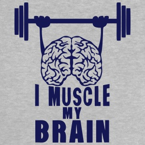 i muscle my brain quote Shirts - Baby T-Shirt