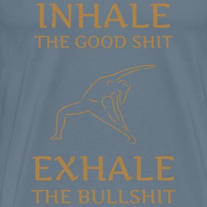 INHALE THE GOOD - Männer Premium T-Shirt