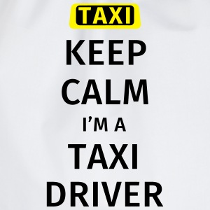 Keep Calm I'm a Taxidrive T-skjorter - Gymbag