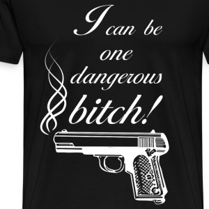 Dangerous Bitch  - Männer Premium T-Shirt