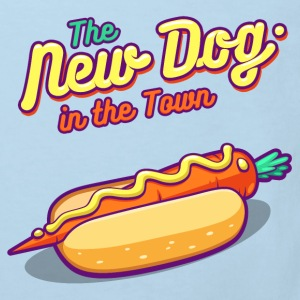 Menthe The New Dog in the Town Tee shirts - T-shirt Bio Enfant