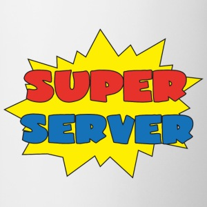 Super server Camisetas - Taza