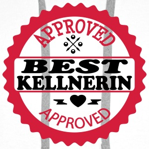 Approved best kellnerin T-Shirts - Men's Premium Hoodie