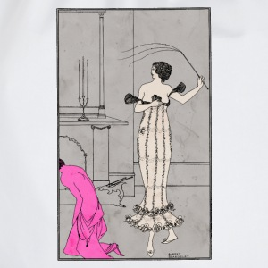 Sadism & Masochism | by Aubrey Beardsley - Drawstring Bag