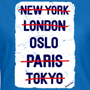 NY London Oslo..., Francisco Evans ™ Bags & Backpacks - Women's T-Shirt