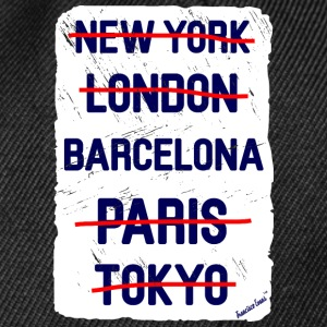 NY London Barcelona..., Francisco Evans ™ Kopper & tilbehør - Snapback-caps