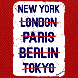 NY London New York..., Francisco Evans ™ Vesker & ryggsekker - Snapback-caps
