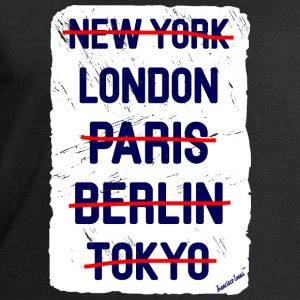 NY London..., Francisco Evans ™ Bags & Backpacks - Men's Sweatshirt by Stanley & Stella
