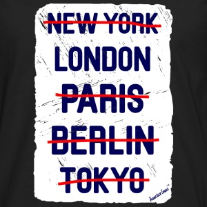 NY London..., Francisco Evans ™ Bags & Backpacks - Men's Premium Longsleeve Shirt
