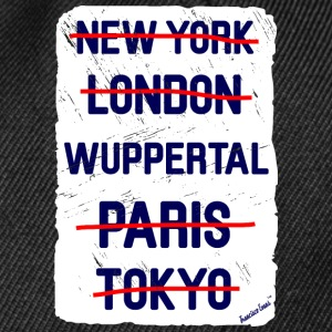 NY London Wuppertal..., Francisco Evans ™ Kopper & tilbehør - Snapback-caps