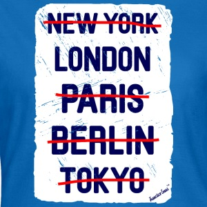 NY London..., Francisco Evans ™ Bags & Backpacks - Women's T-Shirt