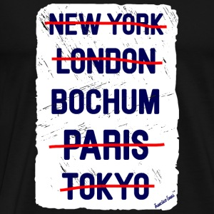 NY London Bochum..., Francisco Evans ™ Vesker & ryggsekker - Premium T-skjorte for menn