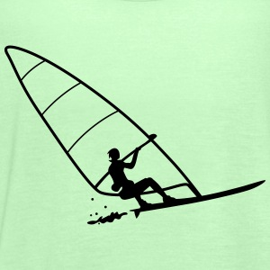 windsurfing T-Shirts - Women's Tank Top by Bella