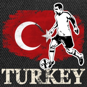 Soccer - Fußball - Turkey Flag Tee shirts - Casquette snapback