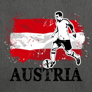 Soccer - Fußball - Austria Flag Hoodies & Sweatshirts - Shoulder Bag made from recycled material