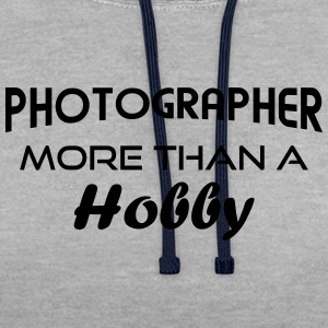 Photographer hobby - arc T-Shirts - Contrast Colour Hoodie