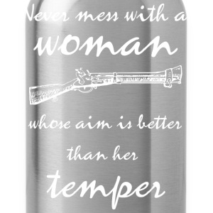 Woman's temper - Trinkflasche