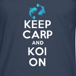 KEEP CALM AND KOI ON - Men's Premium Longsleeve Shirt