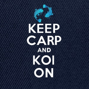 KEEP CALM AND KOI ON - Snapback Cap