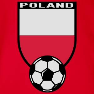 2016 Poland fan shirt Shirts - Organic Short-sleeved Baby Bodysuit