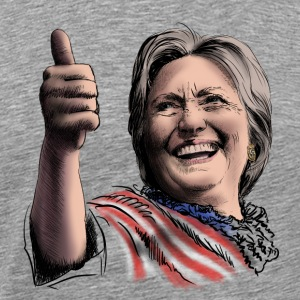 Hillary Clinton Long Sleeve Shirts - Men's Premium T-Shirt