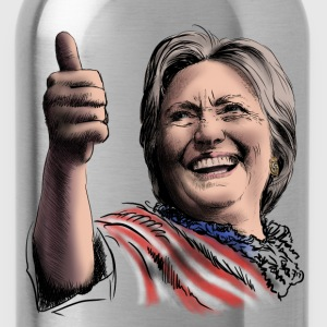 Hillary Clinton T-Shirts - Trinkflasche