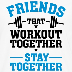 Friends That Workout Together Stay Together T-shirts - Mannen Premium shirt met lange mouwen