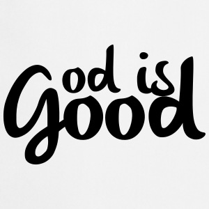 God is good T-shirts - Keukenschort