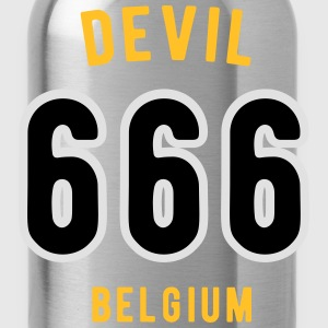 Devil 666 Team Belgium - Drinkfles